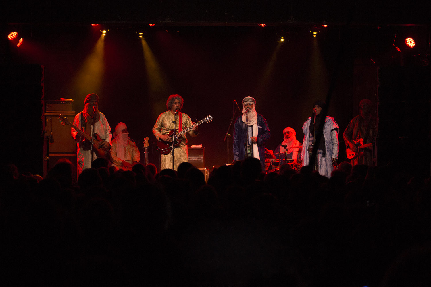 Tinariwen at Trinity, Bristol by Michael Brumby