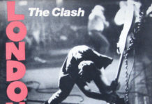 London Calling album cover photo by Pennie Smith