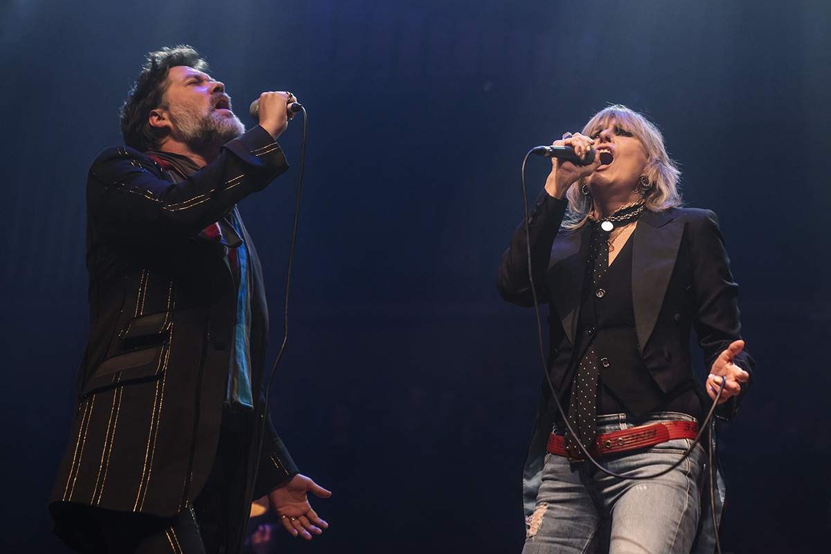 Rufus and Martha Wainwright: A Not So Silent Night – live review