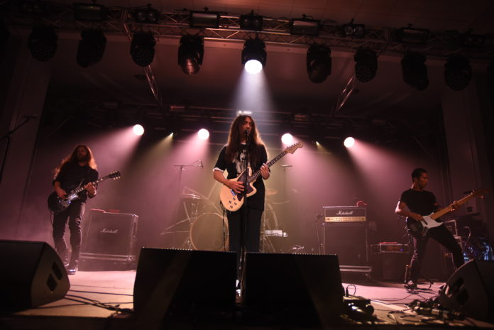 Alcest on stage at the Damnation Festival