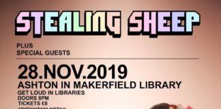 stealing sheep - loud in libaries
