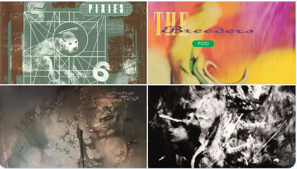 Vaughan Oliver, graphic designer for Pixies, Cocteau Twins and more, has died