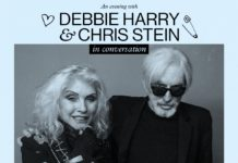Debbie Harry and Chris Stein in conversation