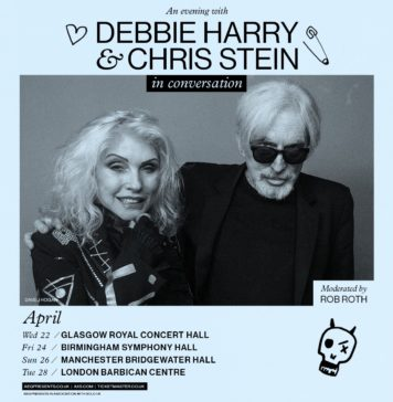 COMPETITON: Blondie's Debbie Harry