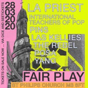 The inaugeral Fair Play Festival announces line-up:
