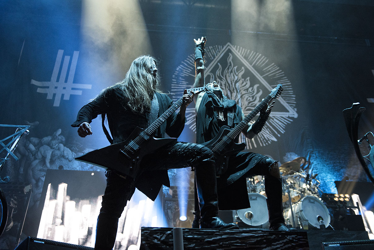 Behemoth live 5 © Melanie Smith