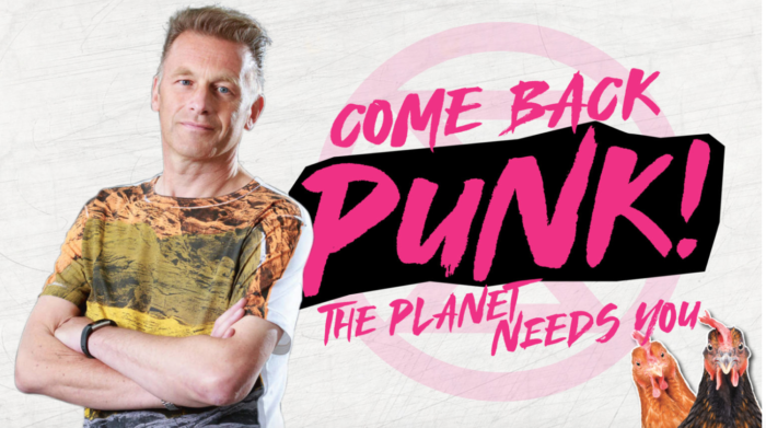 Chris Packham 'Forever Punk' TV documentary about the impact of punk on his life this Friday