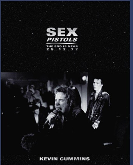 Legendary rock photographer Kevin Cummins in conversation with John Robb in Manchester about his new Sex Pistols photo book : tickets and details