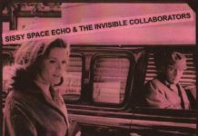 Sissy Space Echo 7 The Invisible Collaborators single cover