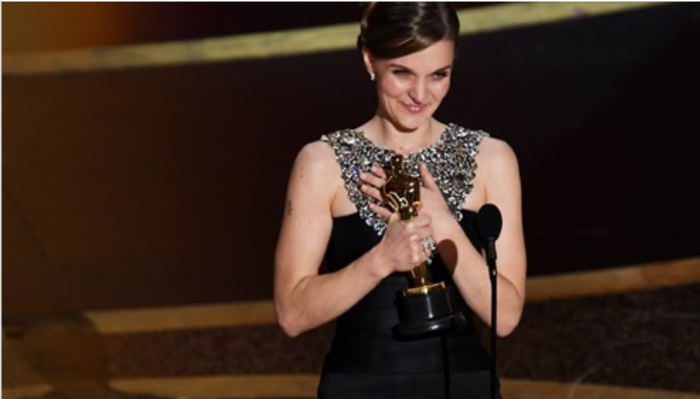 Hildur Gudnadottir is first woman to win Oscar for best score for her brilliant soundtrack to 'The Joker'