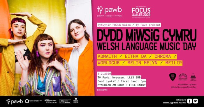 Adwaith Release New Song To Celebrate Dydd Miwsig Cymru