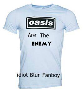 Idiot Blur Fanboy
