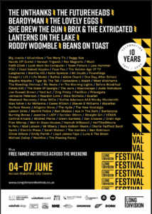 Long Division Festival announces second wave of artists for big Wakefield event