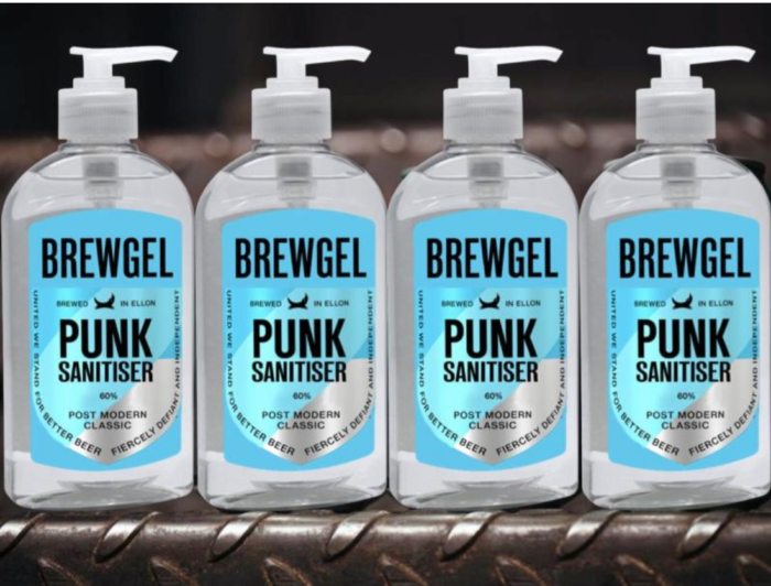 Brewdog – the brewing company switch production to free virus busting 'punk hand sanitiser'