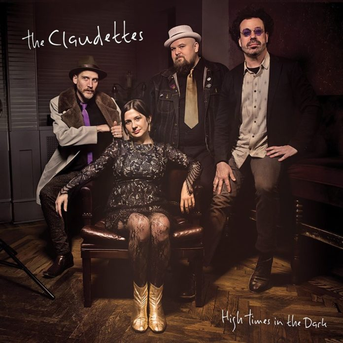 The Claudettes High Times in the Dark album cover