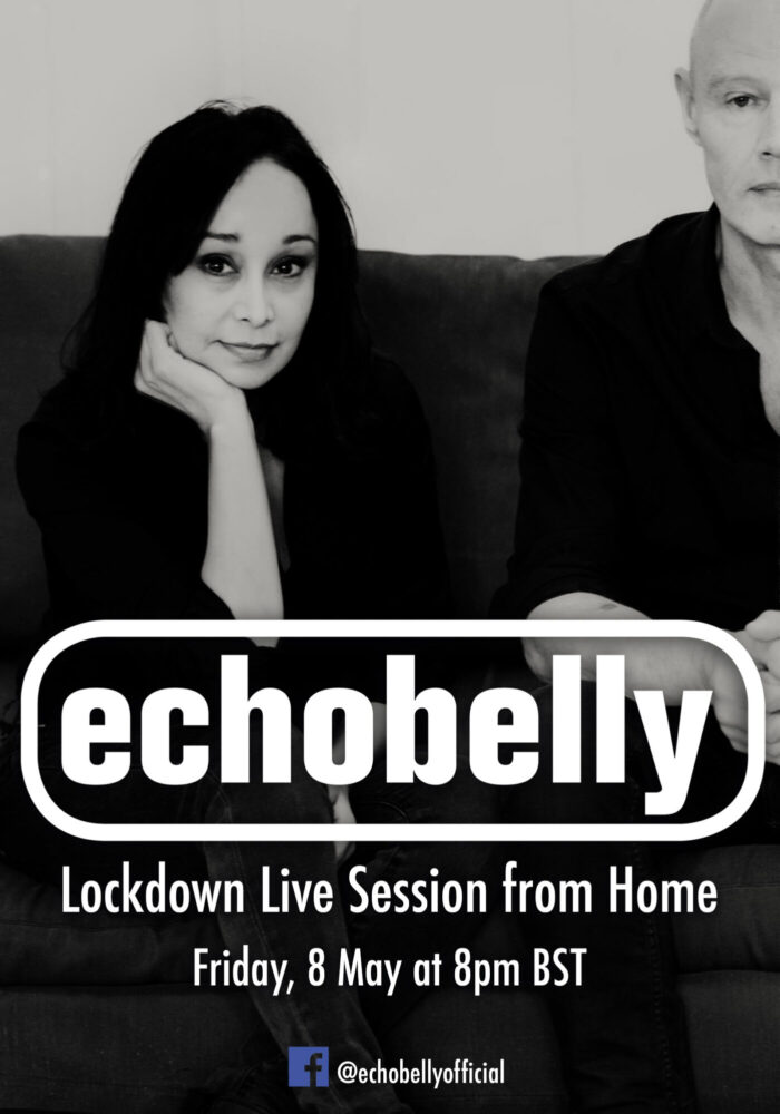 Watch! Echobelly: livestream TONIGHT 8 May @8pm