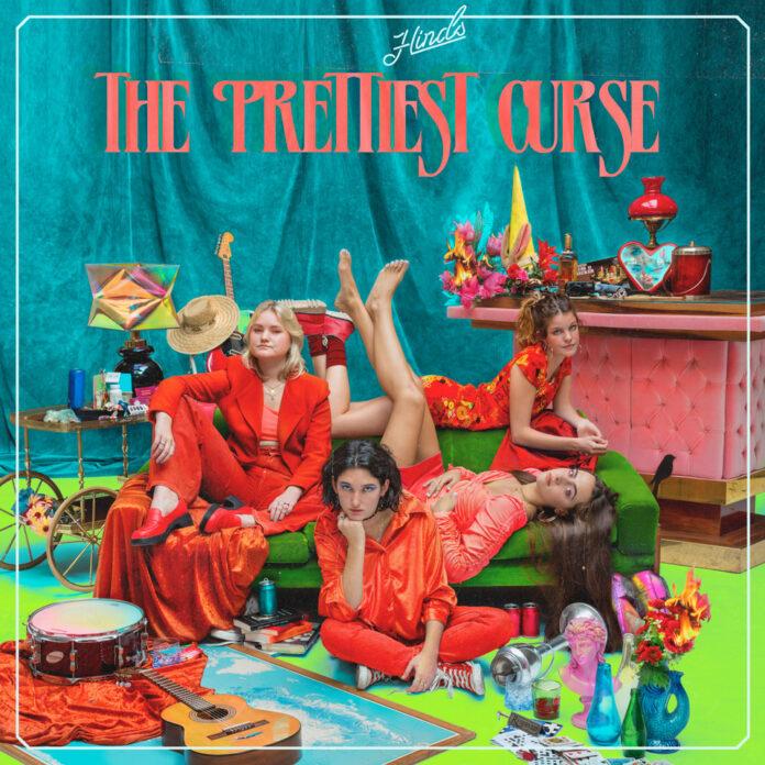 Spanish indie four piece Hinds change direction on their third album