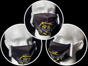 logo face mask 3 angles