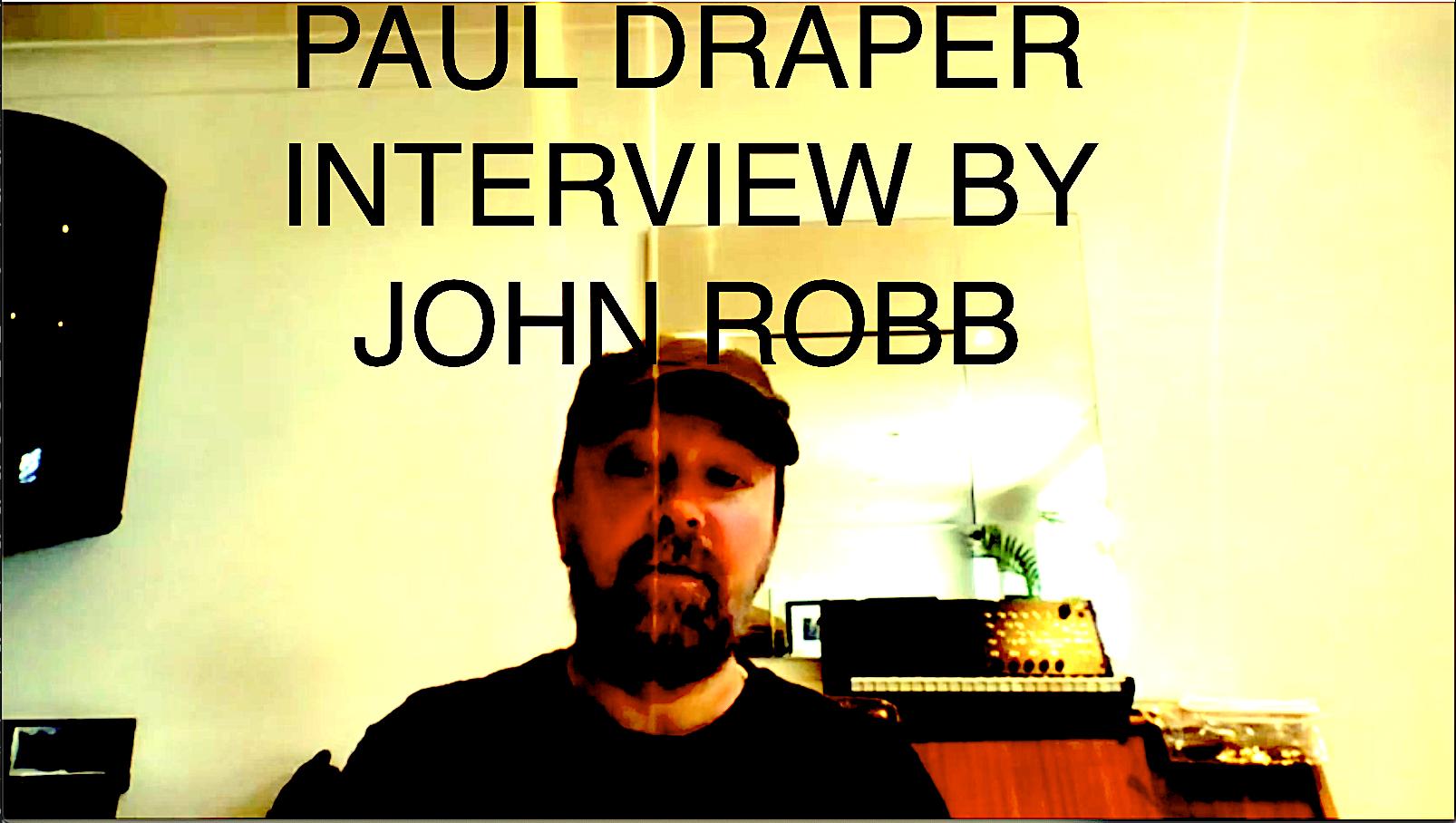 Paul Draper : interview