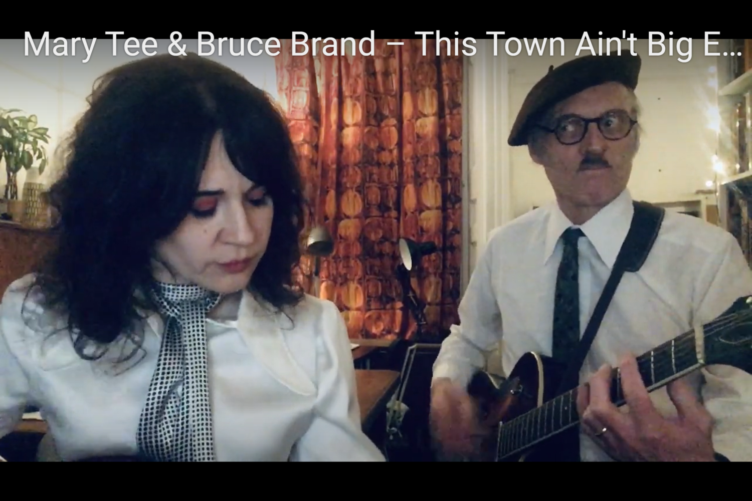 Best SPARKS cover ever?  Mary T & Bruce Brand perform 'This Town…'