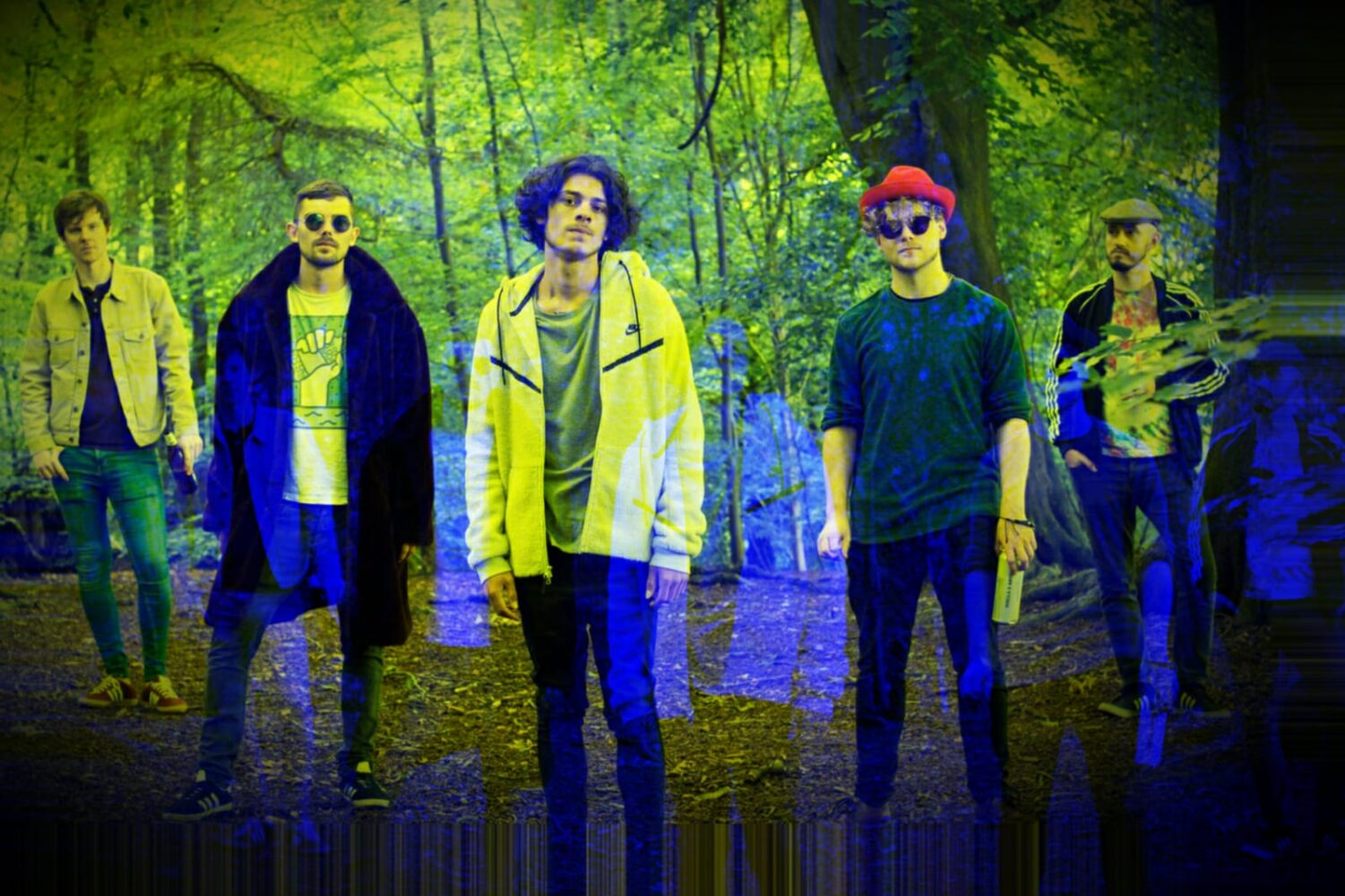 Premiere: Manchester's Suave Martyrs psychedelic new single Footsteps