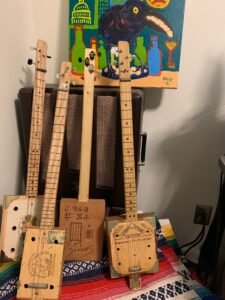 cigar box guitar army