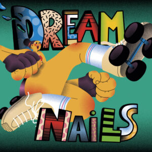 CUBIERTA del álbum debut de Dream Nails