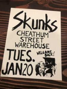 Skunks Cheathum Street
