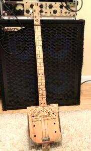 Sublett cigar box guitar