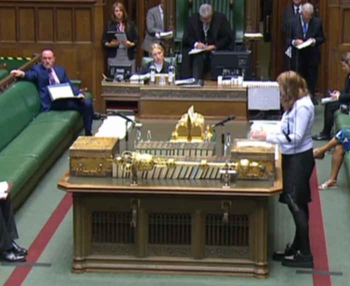 Is Angela Rayner MP the first person to wear crushers to conduct PMQs?