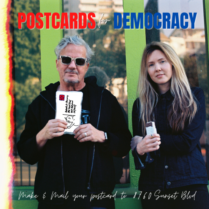 Devo's Mark Mothersbaugh and Beatie Wolfe launch art campaign in support of the US mail service