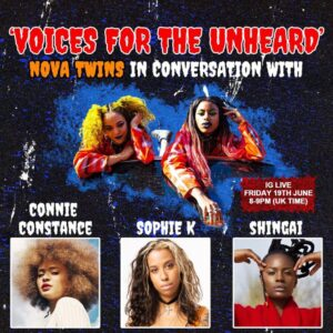 Voices for the Unheard - podcast by Nova Twins