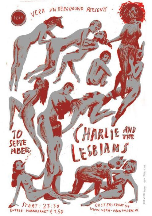 Charlie and the Lesbians -Interview