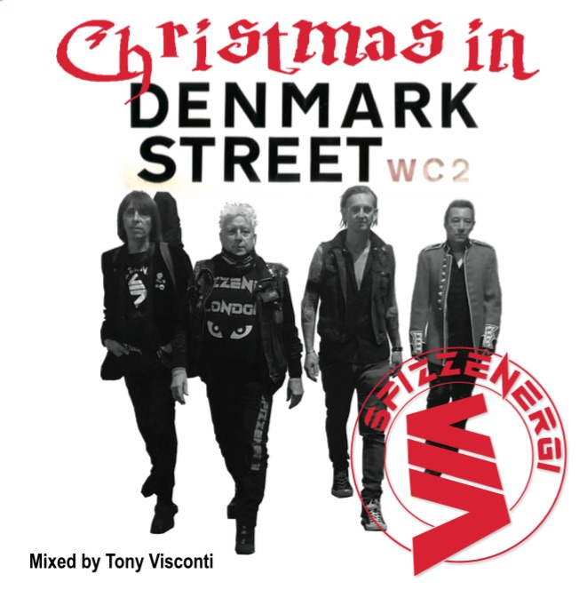 LISTEN! Tony Visconti and SPIZZENERGI Battle Ongoing Development With Their Brand New Festive Single 'Christmas in Denmark Street'