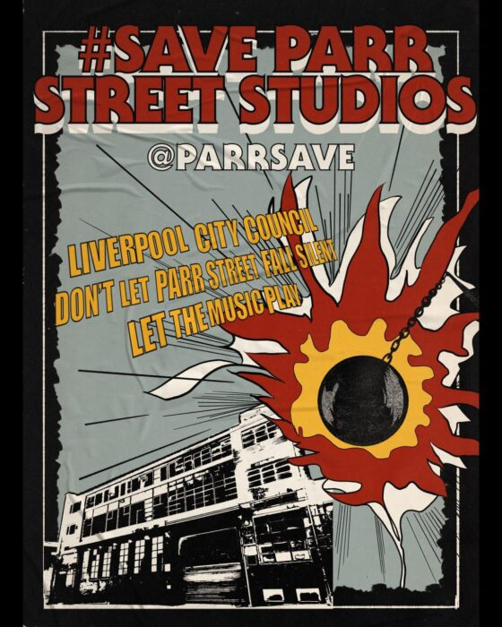 campaign to save Liverpool's legendary Parr St studios