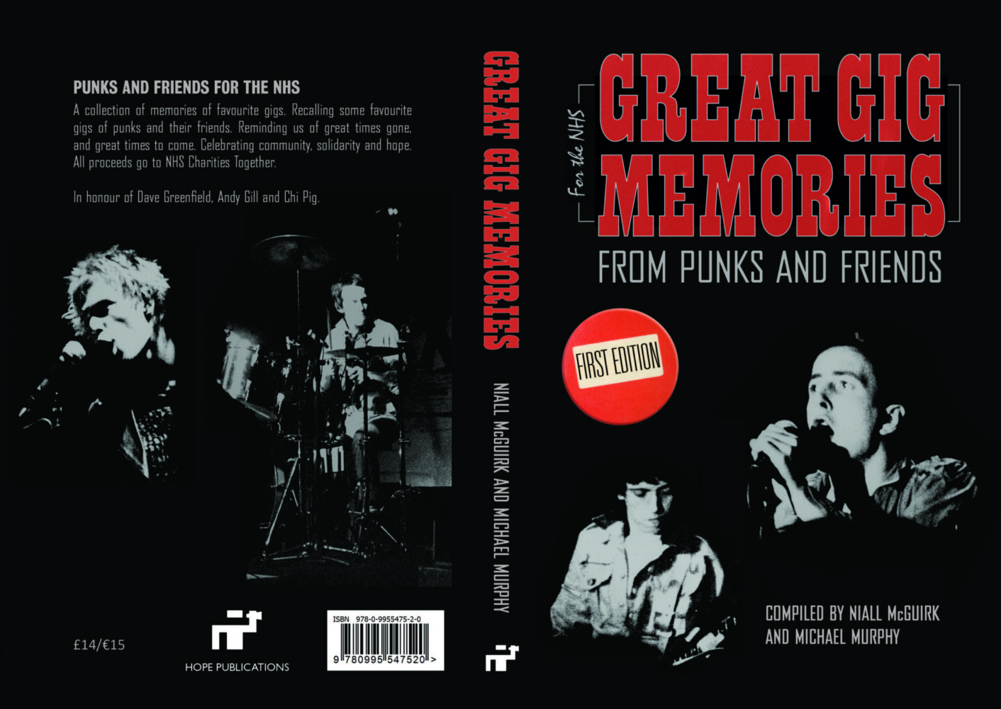 Great Gig Memories: From Punks & Friends – book review