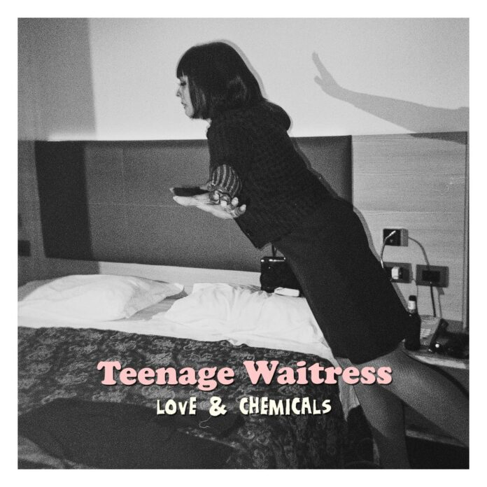 Teenage Waitress Love and Chemicals album cover