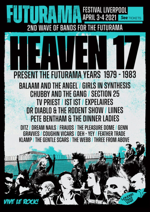 Futurama Festival announce 2nd wave of bands for post punk festival in Liverpool April 2021