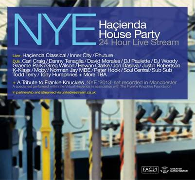 NEWS! Hacienda virtual New Year's Eve party release special preview clip |  Louder Than War