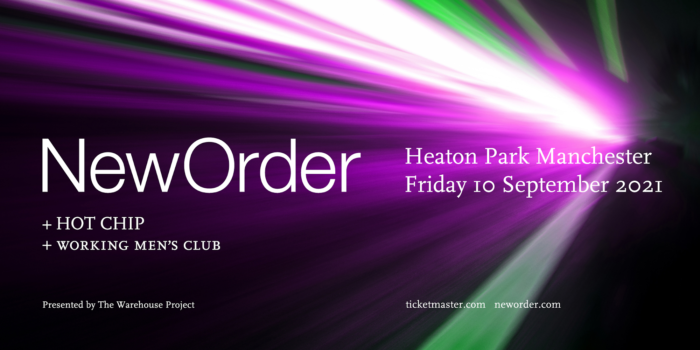 New Order announce huge Manchester homecoming show for 2021