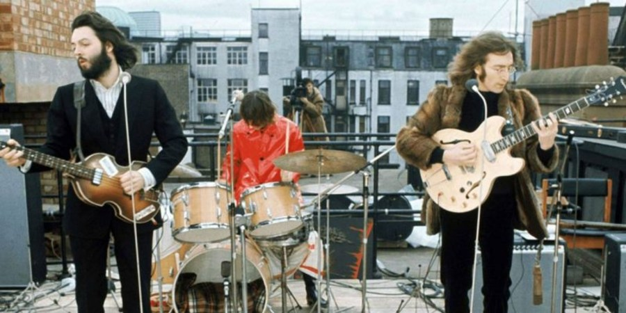 Peter Jackson shares a montage from upcoming documentary `The Beatles: Get Back`