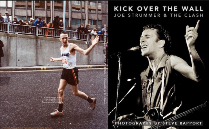 New photo book 'Kick Over The Wall: Joe Strummer & the Clash' order here