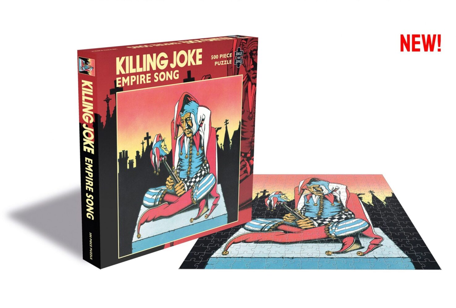 Killing Joke and Nick Cave jigsaws…you were a wild gig warrior once – now you can remember those days with these jigsaws!
