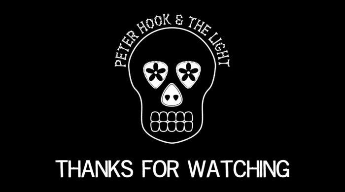 Live Mexico City Peter Hook Light