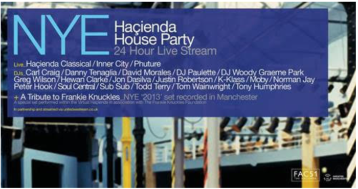 Hacienda new year party huge success and raises big money for charity