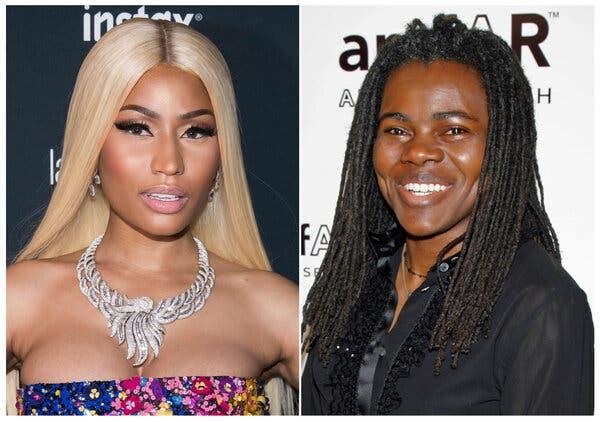 Nicki Minaj settles with Tracy Chapman over Sorry sample
