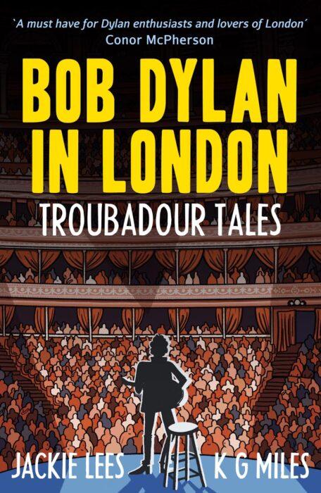 Bob Dylan in London cover