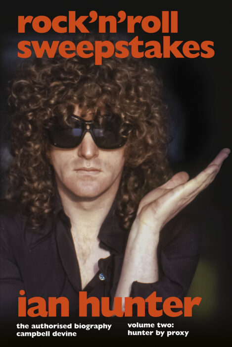 Ian Hunter rock n roll sweepstakes book