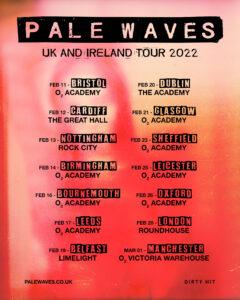 Pale Waves announce 2022 tour dates – news