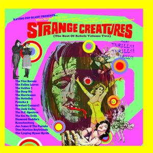 The Mudd Club:  Bottle Blonde – album review – plus 'Strange Creatures' comp plug